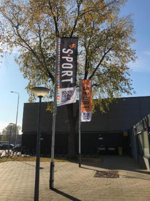 Banner Sporthal Hazelaar