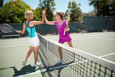 Tennis voor mensen met ervaring