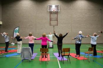 Gym, Beweeg u Fit! (65 jaar en ouder) Cultuurhuis De Engelenburcht