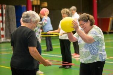 Gym, Beweeg u Fit! (65 jaar en ouder) Woonzorgcentrum Nieuwenhagen