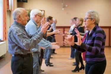 Volksdans, Beweeg u Fit! (65 jaar en ouder) Theater De Speeldoos