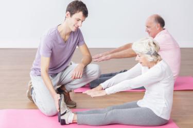 Medische trainingstherapie voor senioren