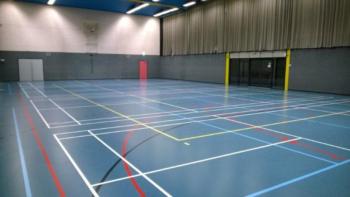 Hambaken Sportzaal binnen