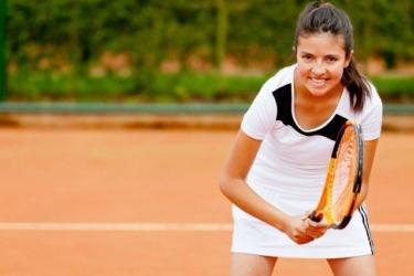 Tennis Jonge Vrouw