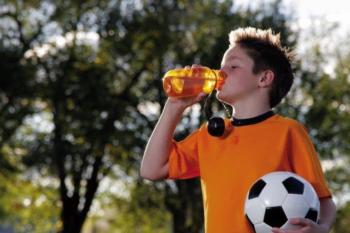 Jongen Drink Water