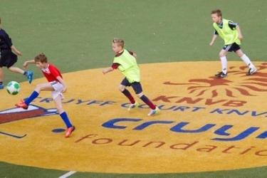 Cruyff voetbaltoernooi 4 vs 4 Zuidoost