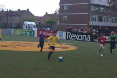 KNVB Straatvoetbaltoernooi West groep 3 en 4