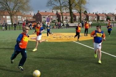 Cruyff voetbaltoernooi 3 vs 3 West