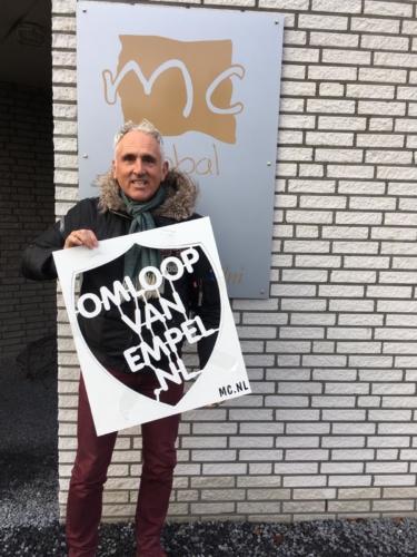 MCReclame ontwerpt mall voor Omloop van Empel