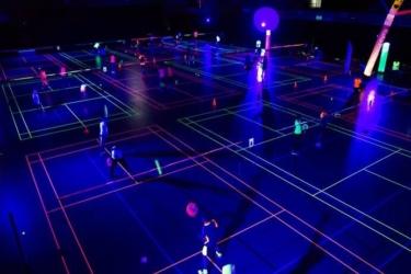 2020 03 Blacklight Badminton