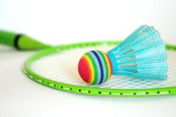 Badminton Gekleurd Racket