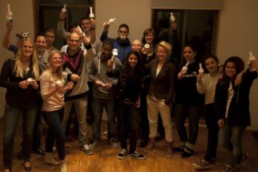 foto van Anne van Engelen van Dbzfysio en een groep Citytrainers die poseren voor de foto