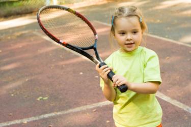 Tennis Meisje