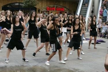 BeemDesign filmt flashmob
