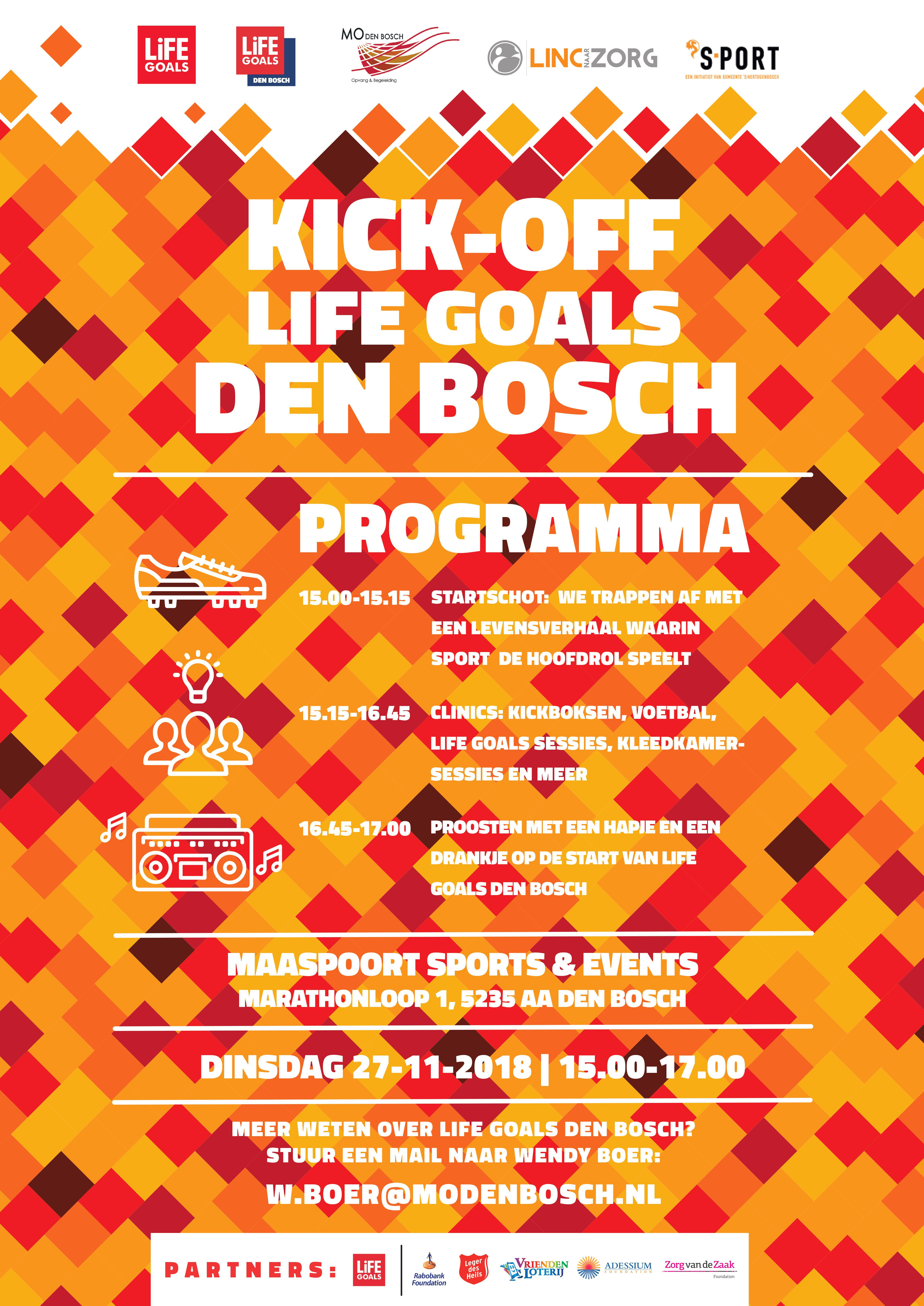 Kickoff Life Goals Den Bosch