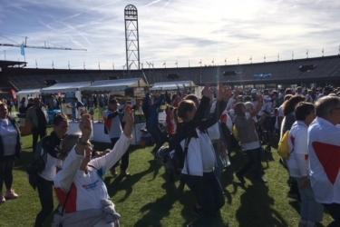 110 Bosschenaren wandelden de finale van de Nationale Diabetes Challenge