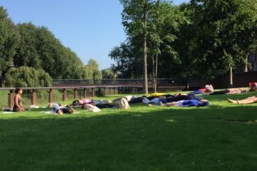 Buiten Yoga Den Bosch 10