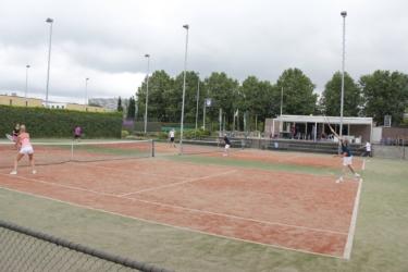 Sport voor studenten: Tennis bij TV de Schutskamp