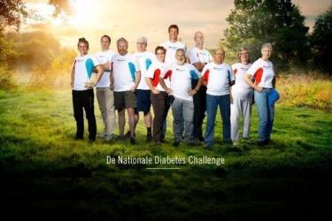 Patiënten Gezondheidscentrum Samen Beter doen mee aan Diabeteschallenge