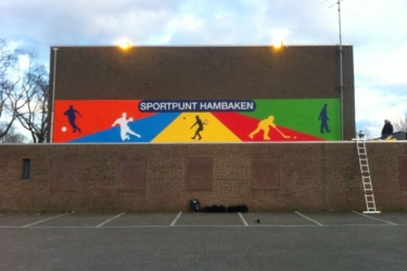 Sportpark Hambaken op de kaart