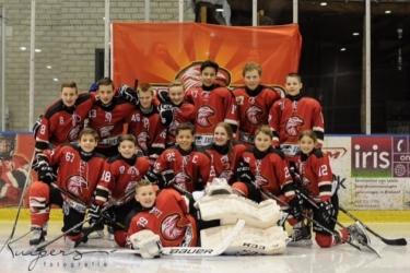 Jeugdteam Red Eagles uit 's-Hertogenbosch  in finale voor Landskampioen 2018
