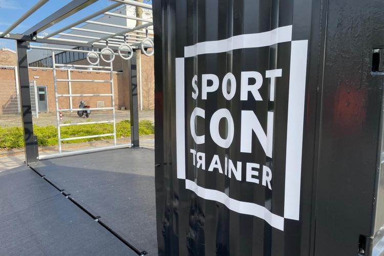 Sport Contrainer plaatsing 5